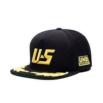 Undefeated Podium Snapback Hat In Black O/S