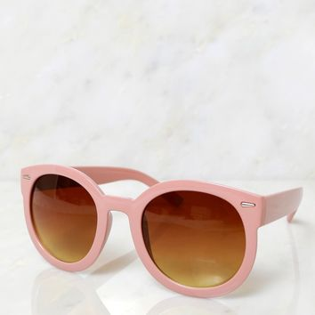 Vintage Sunsets Sunglasses Milky Brown