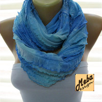 Infinity  Scarf - Circle Scarf Loop Scarf ,gift Ideas For Her Women's Scarves-Fashion accessories