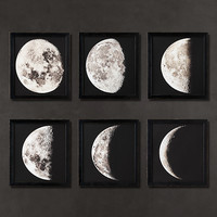 1896 Moon Photogravure Prints Collection