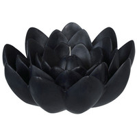 Sia Candle Lotus Black 20cm