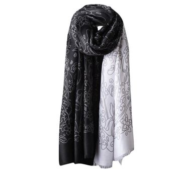 New Fashion Design Winter Warm Men Women Scarf Woolen Long Large Wrap Scarves Women Winter