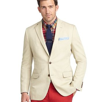 Fitzgerald Fit Cotton Linen Sport Coat - Brooks Brothers