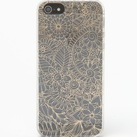 LA Hearts Gold Lace iPhone 5/5s Case - Womens Scarves - Gold - One