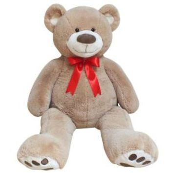 Playful Plush, 59 in. Jumbo Plush Teddy Bear, 33688 at The Home Depot - Mobile