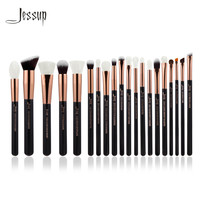 Aliexpress.com : Buy Jessup Rose Gold/Black Professional Makeup Brushes Set Make up Brush Tools kit Foundation Powder Brushes natural synthetic hair from Reliable brush set make up suppliers on Jessup Official Store