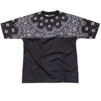 Underated Co. - Black Paisley Yoke Tee - Underated Co., T-Shirts - KNYEW Clothing Boutique