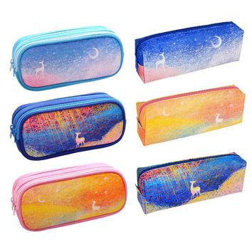 High Quality Kawaii Art Milu Deer School Pencil Case