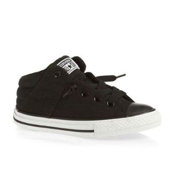 Converse CT Axel Mid Black Youths Trainers