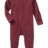 Old Navy Zip Front One Pieces For Baby