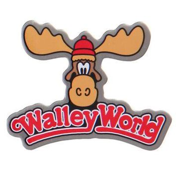 "National Lampoon Wally World Logo Christmas Vacation Moose 1.25"" Enamel Pin"