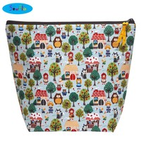 Large Wedge Knitting Bag-Fairy Tales-NEW!