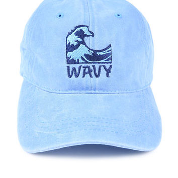 The Wavy Dad Hat in Sky Mineral