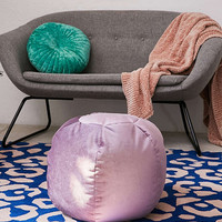 Kirstie Velvet Pouf | Urban Outfitters