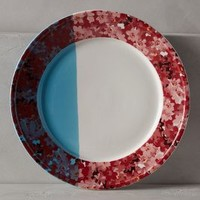 Streaked Sunlight Dinner Plate by Anthropologie
