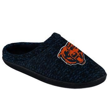 Chicago Bears Official NFL Poly Knit Cup Sole Slipper
