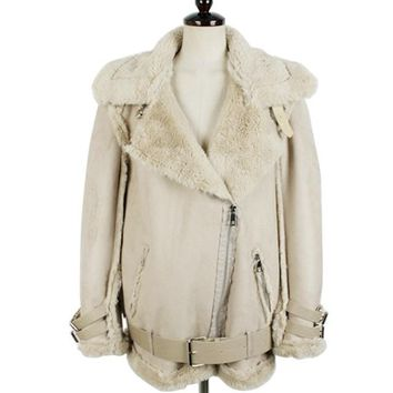 Time Suede Leather Jacket