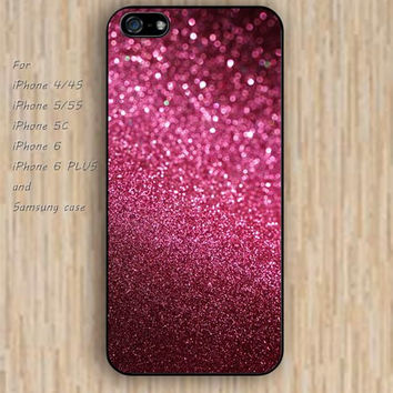 iPhone 5s 6 case Dream catcher colorful glitter pink phone phone case iphone case,ipod case,samsung galaxy case available plastic rubber case waterproof B428