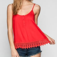 Billabong Country Smile Womens Cami Fire  In Sizes