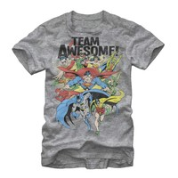 Justice League Men's - Team Awesome T-Shirt