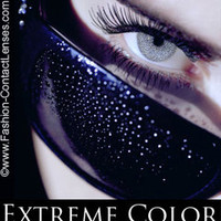 Daring Diamond Extreme Color Contact Lenses