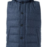 Corneliani Padded Gilet - Farfetch