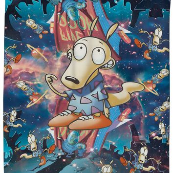Rocko's Rockverse Shower Curtain