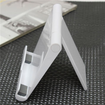 1PC White Portable Adjust Angle Stand Holder Support Bracket Mount For Tablet for ipad Phone for Galaxy