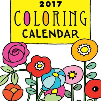 Mary Engelbreit's 2017 Coloring Weekly Planner Calendar EGMT