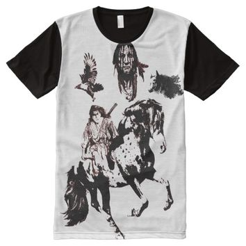 THE LAST OF THE MOHICANS All-Over-Print T-Shirt