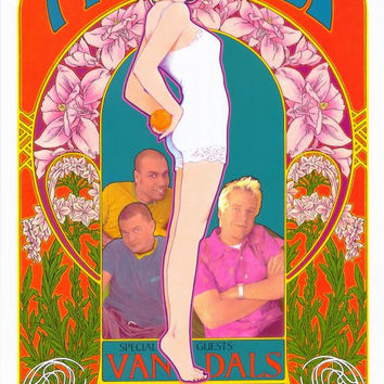 No Doubt 11x17 Music Poster