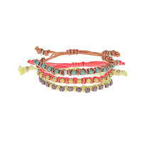 Stone Thread Bracelet Pack - Rave New World - Collections - Topshop