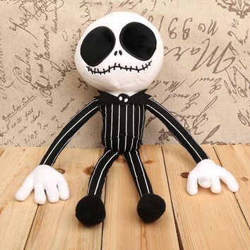 "The Nightmare Before Christmas Jack Plush Toy Soft Stuffed Doll 16"" 40cm"