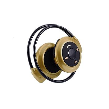 Bluetooth 4.0 Headphones, Fresh Colorways...Gold or Blue, 32 GB TF CARD ONBOARD Excellent for Music, phonecalls, MP3 Play,
