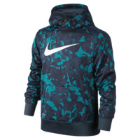 Nike KO 3.0 Allover Print Pullover Boys' Training Hoodie