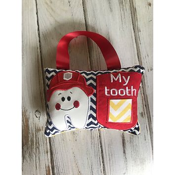 Hanging Fireman Tooth Fairy Pillow RTS