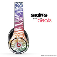 Colorful Zebra Skin for the Beats by Dre