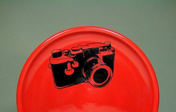 little plate leica berry red   Made to Order / by CircaCeramics
