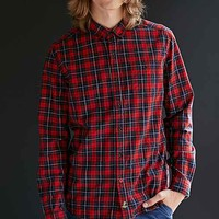 CPO Raleigh Tartan Oxford Button-Down Shirt- Red