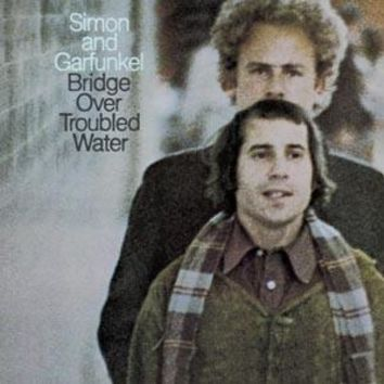 Simon & Garfunkel : Bridge Over Troubled Water LP RE