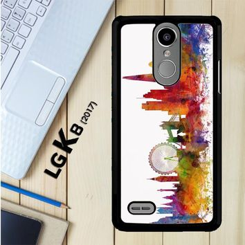 London Skyline Watercolor V0202 LG K8 2017 / LG Aristo / LG Risio 2 / LG Fortune / LG Phoenix 3 Case