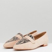 ASOS LUCY Pointed Ballet Flats at asos.com