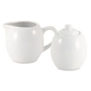 Windsor Ceramic Cream and Sugar Set