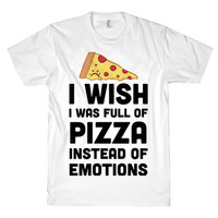 PIZZA FOR FEELINGS TEE