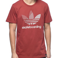 adidas Clima 3.0 Logo Remix Red T-Shirt