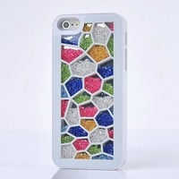Unique Irregular Polygon Hard Cover Case For Iphone 4/4s/5