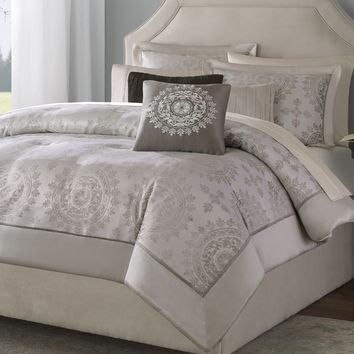 Madison Park Tiburon 12 Piece Comforter Set