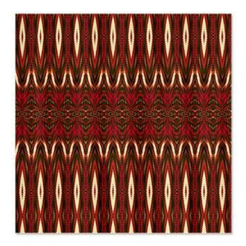 Symbolic Native American Red Shower Curtain> Symbolic Native American Reds> Kakeesha