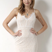 Decker All For You Dress - White