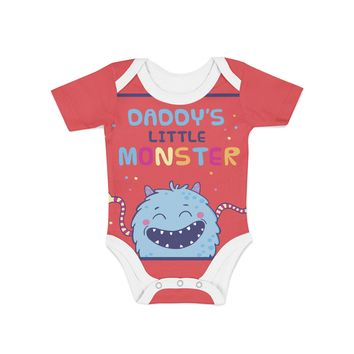 Daddys Lil Monster Onesuit